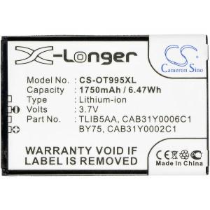 Аккумулятор для Alcatel (CAB31Y0002C1, TLiB5AA) - Cameron Sino | Фото 4