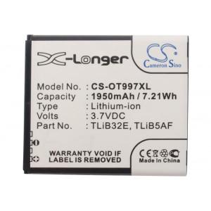 Аккумулятор для Alcatel (CAB32E0002C1, TLiB5AF) - Cameron Sino | Фото 4