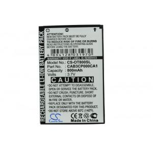 Аккумулятор для Alcatel (CAB3CP000CA1, CAB30P0000C1) - Cameron Sino | Фото 4