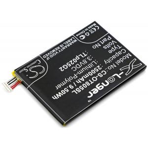 Аккумулятор для Alcatel (CAC2580010C2, TLp025G2) - Cameron Sino | Фото 2