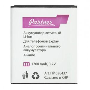 Аккумулятор для телефона Explay 4Game - Partner | Фото 1