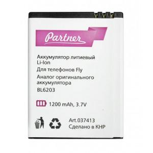 Аккумулятор для телефона Fly DS120+ - Partner | Фото 1