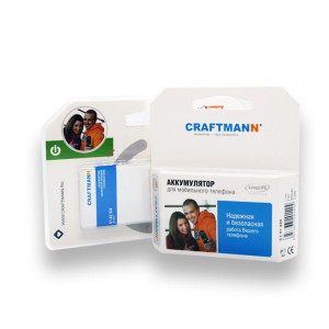 Аккумулятор для телефона Explay A400 - Craftmann | Фото 2
