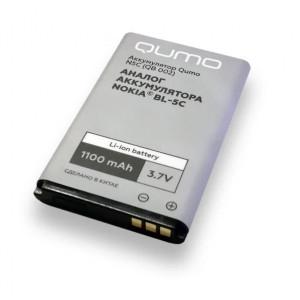 Аккумулятор для телефона Nokia 1112 - Qumo | Фото 1