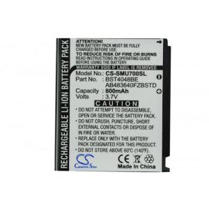 Аккумулятор для Samsung (AB603443CE, AB603443CUCSTD) - Cameron Sino | Фото 4