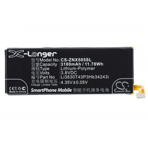 Аккумулятор для ZTE (Li3830T43P3hB34243i) - Cameron Sino | Фото 4