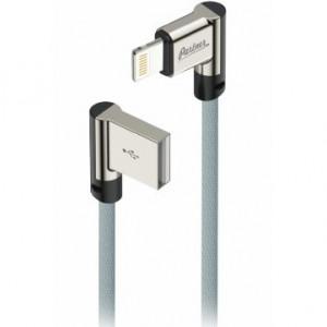 Дата-кабель USB для Apple (Lightning 8pin) - 2.1A - Угловой - Черный - Partner | Фото 1