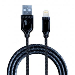 Дата-кабель для телефона Apple iPhone 6S Plus (2A - Черный) - Auzer | Фото 1