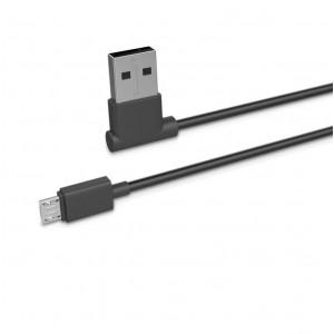 Дата-кабель USB - Micro USB (2.1A, угловой) - HOCO | Фото 1