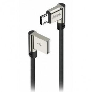 Дата-кабель USB - Micro USB (2.1A, угловой) - Partner | Фото 1