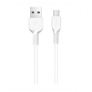 Дата-кабель USB - Micro USB HOCO X13 (2.4A, Белый) | Фото 1