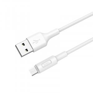 Дата-кабель USB - Micro USB HOCO X25 (2A, Белый) | Фото 1