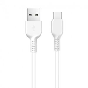 Дата-кабель USB - Type C HOCO X13 (3A, Белый) | Фото 1