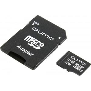 Карта памяти MicroSDHC Class 10 UHS-I 32GB - Qumo | Фото 2