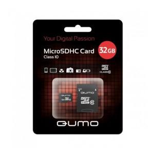 Карта памяти MicroSDHC Class 10 32GB - Qumo | Фото 1