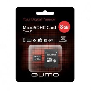 Карта памяти MicroSDHC Class 10 8GB - Qumo | Фото 2