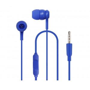 Наушники внутриканальные (с микрофоном) Borasco BSH-04 - Blue | Фото 1