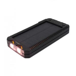 Портативное зарядное устройство - солнечная батарея Auzer APS12000 - 12000 мАч с влагозащитой | Фото 1