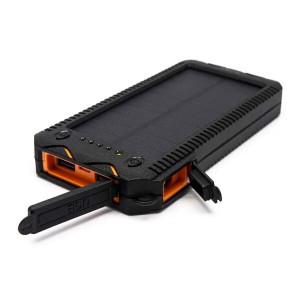 Портативное зарядное устройство - солнечная батарея Auzer APS12000 - 12000 мАч с влагозащитой | Фото 3
