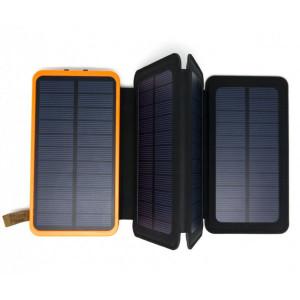 Портативное зарядное устройство - солнечная батарея Auzer APS8000 - 8000 мАч с 4-мя панелями | Фото 3