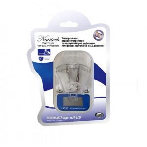 """Сетевая зарядка универсальная """"Лягушка"""" для всех типов аккумуляторов с LCD дисплеем - Navitoch   Фото 3"""