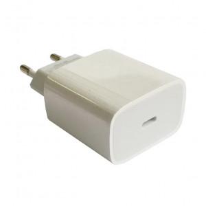 Сетевая зарядка универсальная с Type-C выходом (20W PD) White - COTEetCI | Фото 1