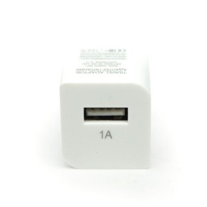 Сетевая зарядка универсальная с USB выходом (1A) White - Auzer | Фото 2