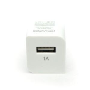 Сетевая зарядка универсальная с USB выходом (1A) White - Auzer | Фото 2