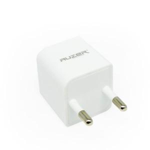 Сетевая зарядка универсальная с USB выходом (1A) White - Auzer | Фото 3