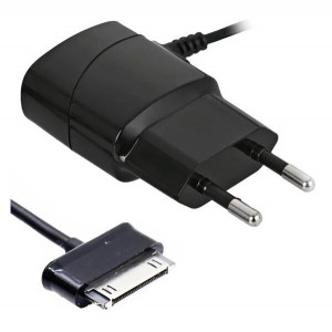 Сетевое зарядное устройство для Apple (30 pin) - 2A - Black - SEVEN | Фото 1