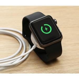 Зарядка сетевая для часов Apple Watch 38mm (1st gen) (WS-09 White) - COTEetCI | Фото 2