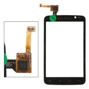 Тачскрин для телефона alcatel OT-991 (черный) | Фото 1