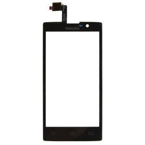 Тачскрин для телефона Philips W3500 (черный) | Фото 1