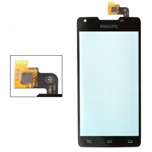 Тачскрин для телефона Philips W6610 (черный) | Фото 1