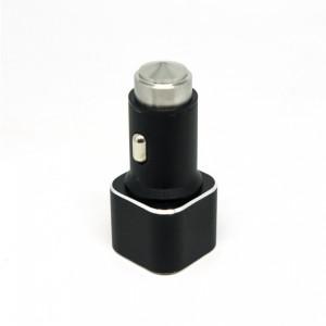 Универсальная автомобильная зарядка с 2-мя USB выходами Auzer ACC2  (2.1A) - Black | Фото 3
