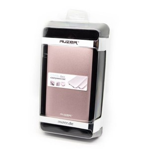 Универсальное зарядное устройство - Внешний аккумулятор Auzer AP10800 - Pink | Фото 3