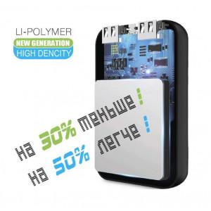 Универсальное зарядное устройство - Внешний аккумулятор Auzer AP10000BK - Black | Фото 2