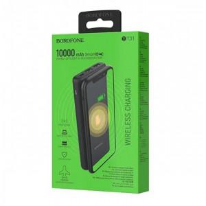 Универсальное зарядное устройство - Внешний аккумулятор Borofone BT31 Winner - 10000 мАч черный | Фото 3