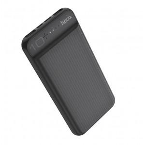 Универсальное зарядное устройство - Внешний аккумулятор Hoco J52 New Joy 10000 мАч черный | Фото 1