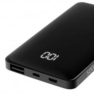 Универсальное зарядное устройство - Внешний аккумулятор Olmio FS-5 5000 мАч черный | Фото 2
