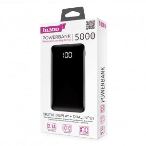 Универсальное зарядное устройство - Внешний аккумулятор Olmio FS-5 5000 мАч черный | Фото 4