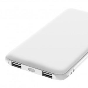 Универсальное зарядное устройство - Внешний аккумулятор Olmio Slim 10000 мАч белый | Фото 2