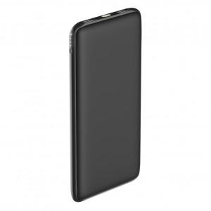 Универсальное зарядное устройство - Внешний аккумулятор Olmio Slim 10000 мАч черный | Фото 1