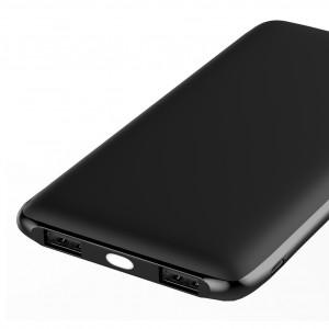 Универсальное зарядное устройство - Внешний аккумулятор Olmio Slim 10000 мАч черный | Фото 2