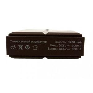 Универсальное зарядное устройство - Внешний аккумулятор Partner 3200 - Chocolate | Фото 2