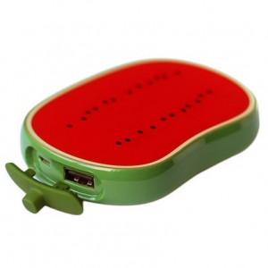 Универсальное зарядное устройство - Внешний аккумулятор Vertex Fancy Watermelon - 6000 мач | Фото 1