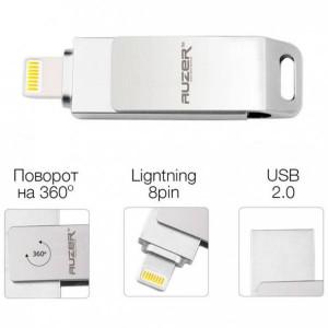 USB флешка для планшета Apple iPad Air 3 (64 Гб - Silver) - Auzer | Фото 2