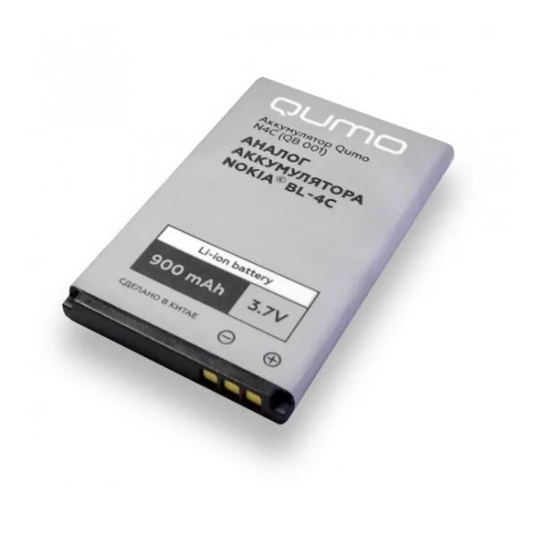 Аккумулятор для телефона Nokia 108 Dual SIM - Qumo | Фото 1