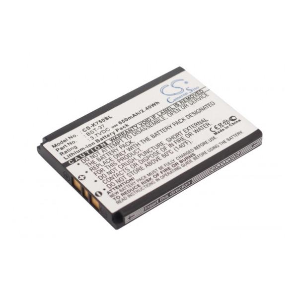 Аккумулятор для телефона Sony Ericsson K750i - Cameron Sino | Фото 1