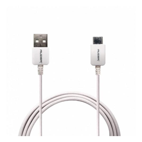 Дата-кабель USB - Type C (белый) - Auzer | Фото 1